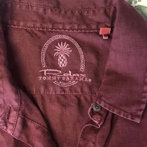 Tommy Bahama Tops - New, Tommy Bahama Relax button up Linen too szM